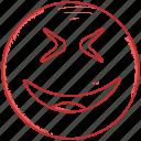 emoticon, smiley, emoji, surprised, happy