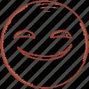 emoticon, moji, smiley, surprised, happy