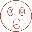 emoticon, depressed, smiley, unhappy, face, sad icon