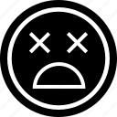 alive, avatar, dead, emoji, emotion, face, or icon