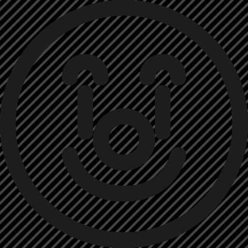 circus, clown, emoji, emoticon, funny, happy, scalable icon