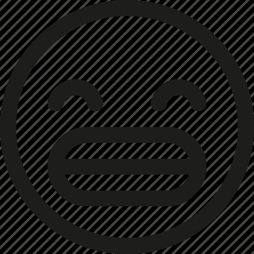 Emoji, emoticon, funny, grin, happy, scalable, avatar icon - Download on Iconfinder