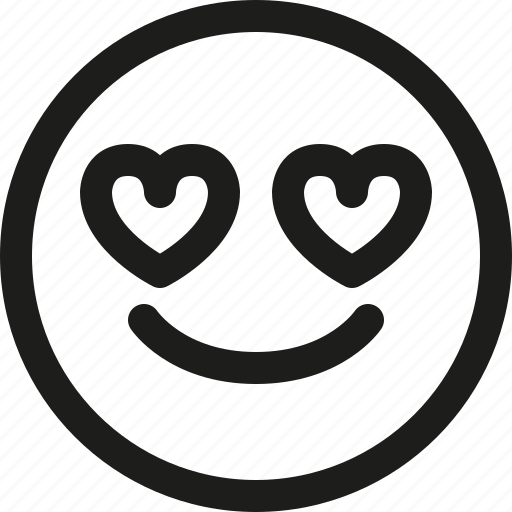 Emoji, emoticon, heart, love, scalable, smiley, valentines icon - Download on Iconfinder