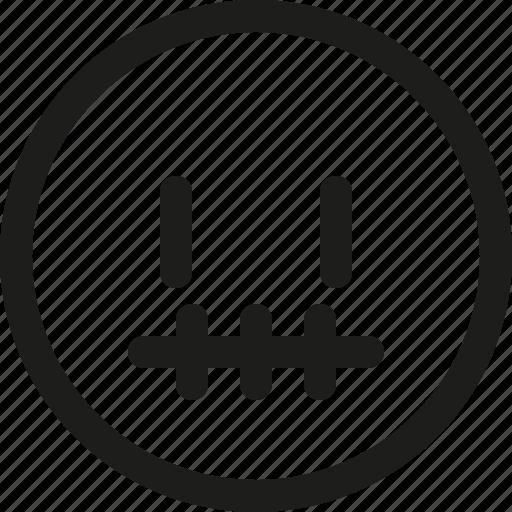 Emoji, emoticon, no, quiet, scalable, silence, words icon - Download on Iconfinder