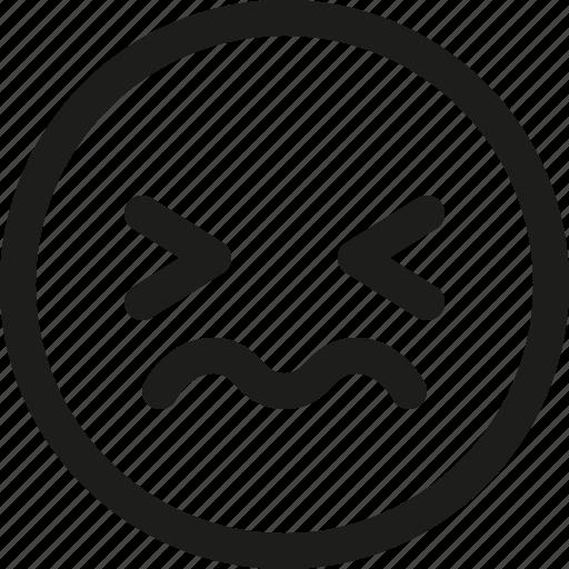avatar, emoji, emoticon, scalable, smiley, stunned icon