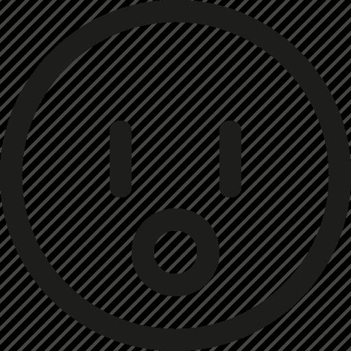 Emoji, emoticon, scalable, surprised, avatar, smiley icon - Download on Iconfinder