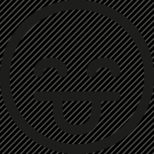 Emoji, emoticon, scalable, tongue, avatar, smiley icon - Download on Iconfinder