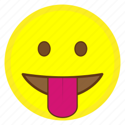 emoji, face, hovytech, mouth, out, stuck, tongue icon