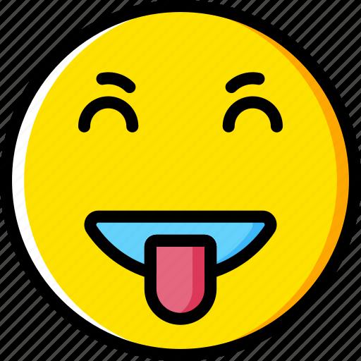 emoji, emoticons, face, goofy icon