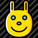 emoji, emoticons, face, happy icon