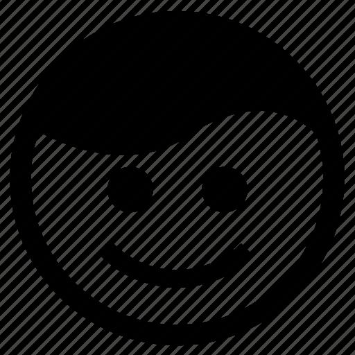 Emoji, expression, happy, smile, smiley face icon - Download on Iconfinder