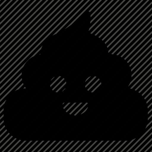 emoticon, poop, poop emoji, shit, smiley face icon