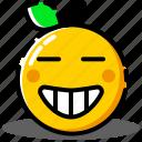 emoji, emoticon, expression, face, smile, smiley icon