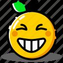 emoji, emoticon, expression, face, happy, smiley icon