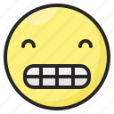 emoji, emoticon, emotion, expression, happy, smile icon
