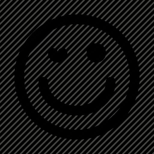 blinking, emoji, emoticon, emotion, expression, face icon