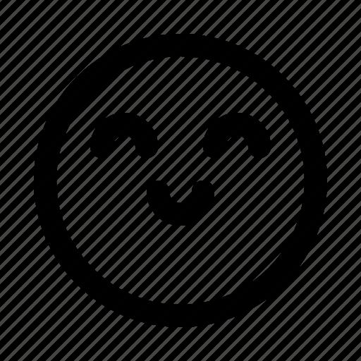 emoji, emoticon, emotion, expression, face, happy icon