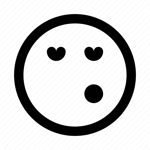 emoji, emoticon, emotion, expression, face, whistle icon