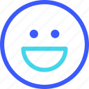 25px, iconspace, smile icon