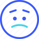 25px, iconspace, worried icon
