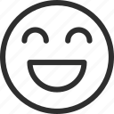 25px, happy, iconspace icon