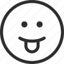 25px, iconspace, tongue icon