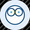 emoticon, expression, eye, mood