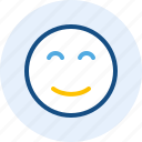 emoticon, expression, happy, mood icon