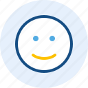 emoticon, expression, mood, smile icon