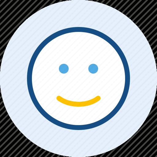 Emoticon, expression, mood, smile icon - Download on Iconfinder