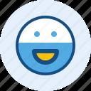 beard, emoticon, expression, mood, smile
