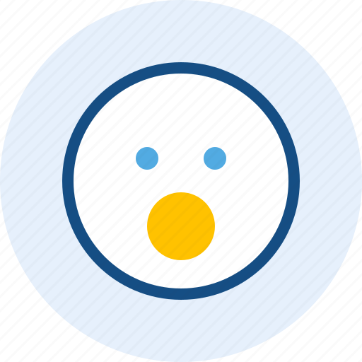 emoticon, expression, mood, wow icon