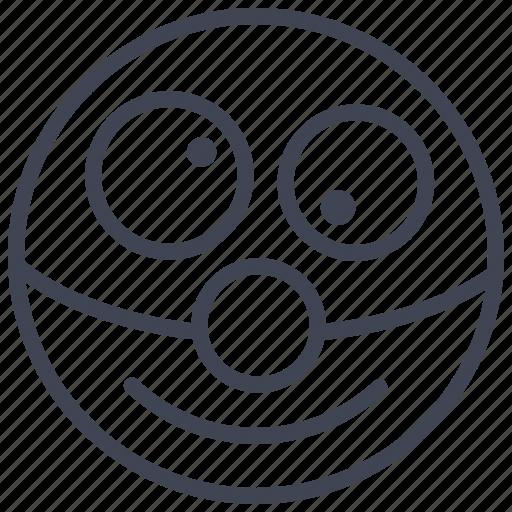 Clown, emoticon, emotion, face, smile, smiley icon - Download on Iconfinder