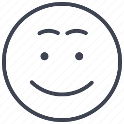 emoticon, emotion, expression, face, smile, smiley icon