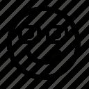 emoji, emoticon, expression, face, people, person, smiley icon