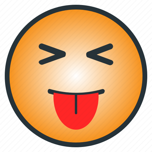 emoji, emoticon, face, kid, langh, tease, tongue out icon