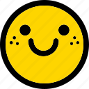 happy, emoji, emoticon, expression, face, smiley