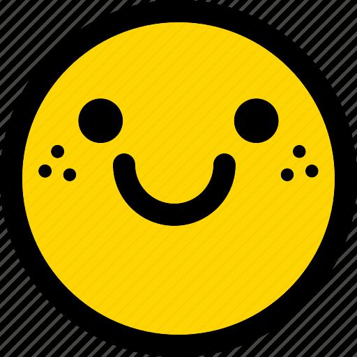 Happy, emoji, emoticon, expression, face, smiley icon - Download on Iconfinder
