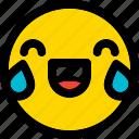 embarrassed, emoji, emoticon, expression, face, smiley icon