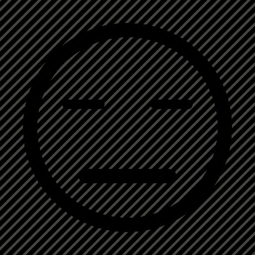 emoticon, hopeless, sigh, silent, sleep, sleeping, tired icon