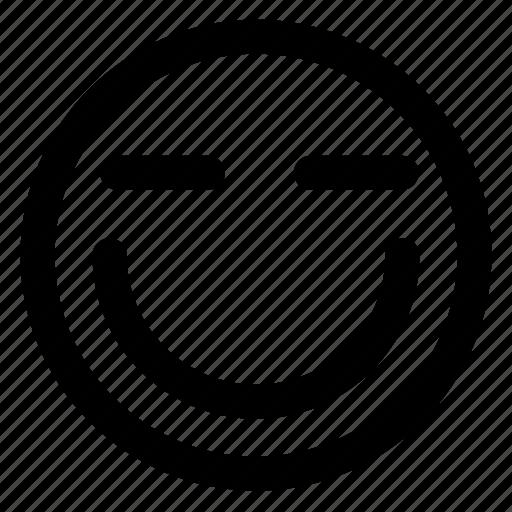 avatar, emoji, emoticons, emotion, positive, smile, smiley icon