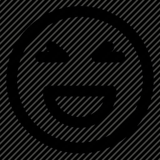 avatar, emoji, emoticons, emotion, smile, smiley, wink icon