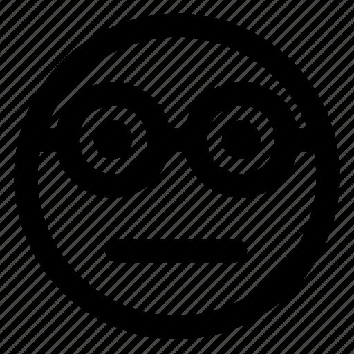 avatar, emoji, emoticons, glasses, smile, smiley icon