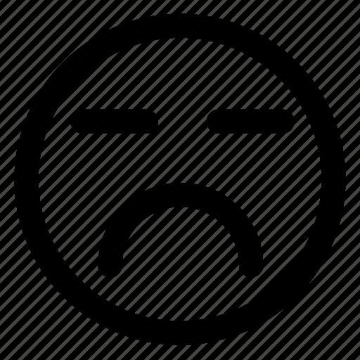 avatar, emoji, emoticons, emotion, sleeping, smile, smiley icon