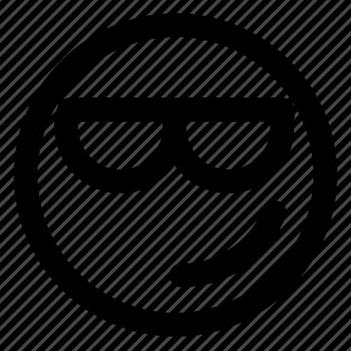 avatar, confident, emoji, emoticons, emotion, smile, smiley icon