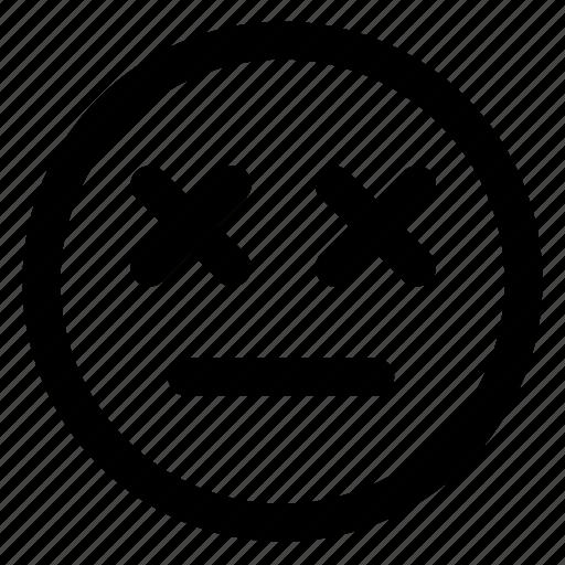 avatar, emoji, emoticons, emotion, sad, smile, smiley icon