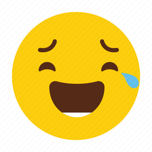 Cry, emoji, emoticon, emotion, expression, reaction, tears icon - Download on Iconfinder