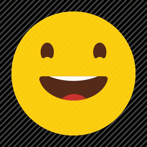 Emoji, emoticon, happy, smile icon - Download on Iconfinder