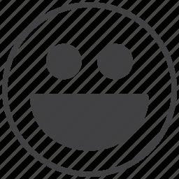 amoticon, laugh, smile, smiley icon
