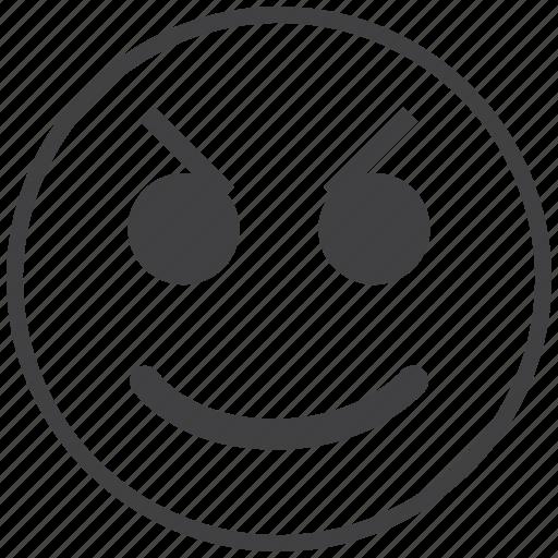 angry, emoticon, smiley icon